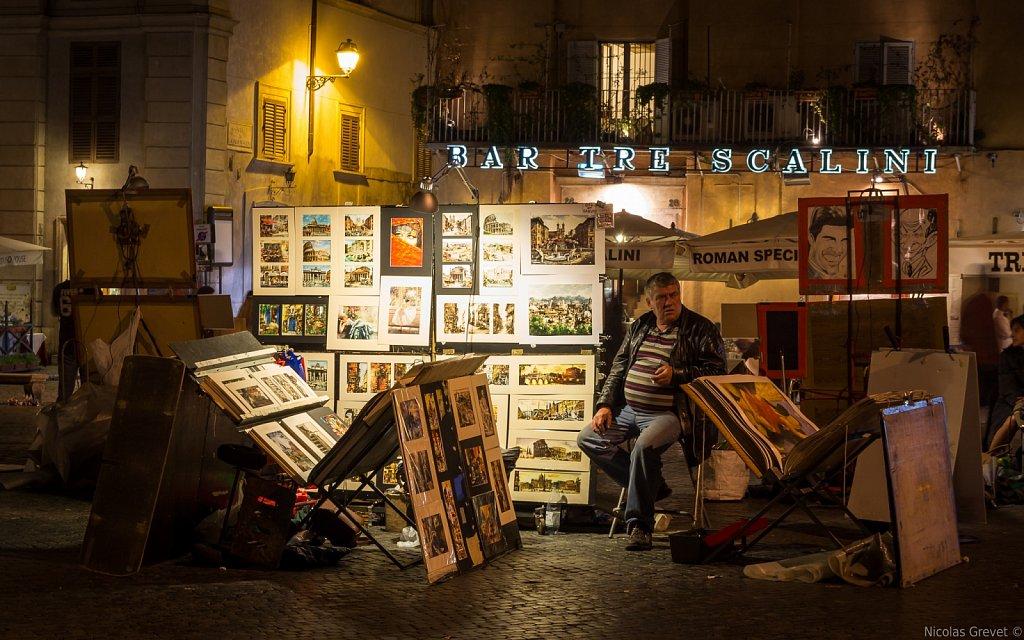 Piazza Navona by night