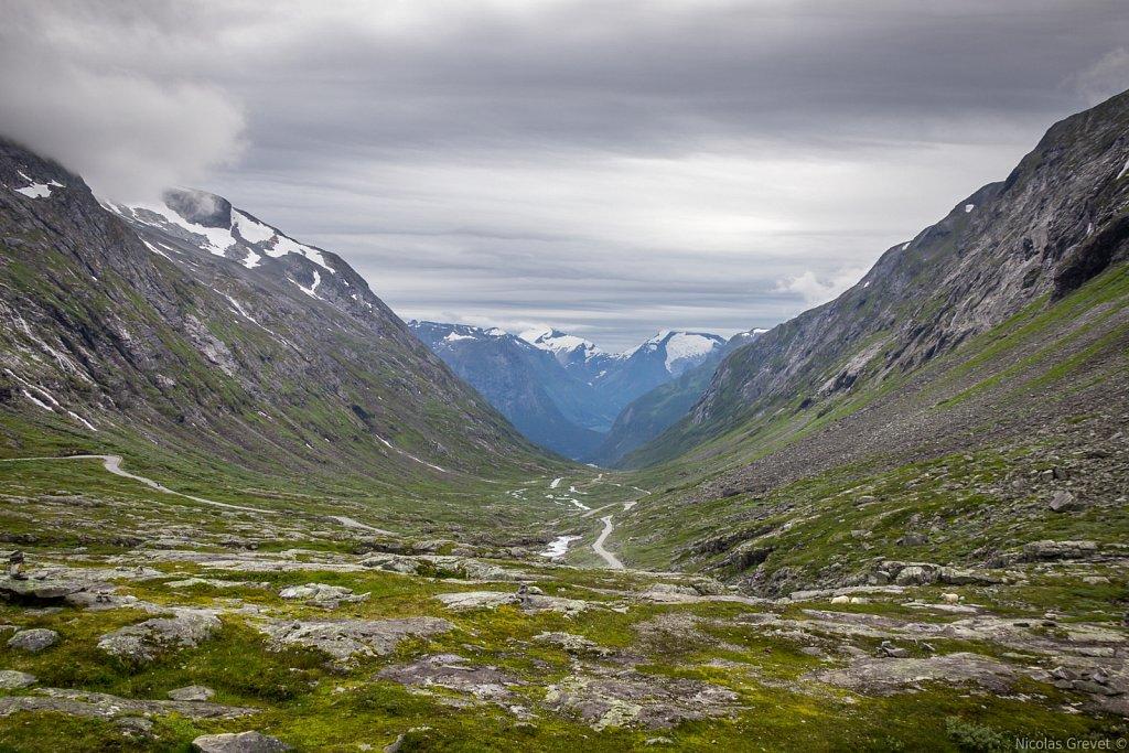 Hjelledalen valley
