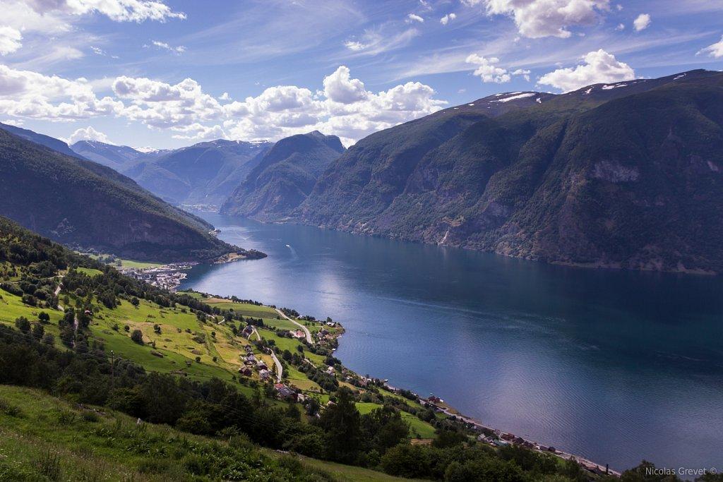 Aurlandsfjorden fjord