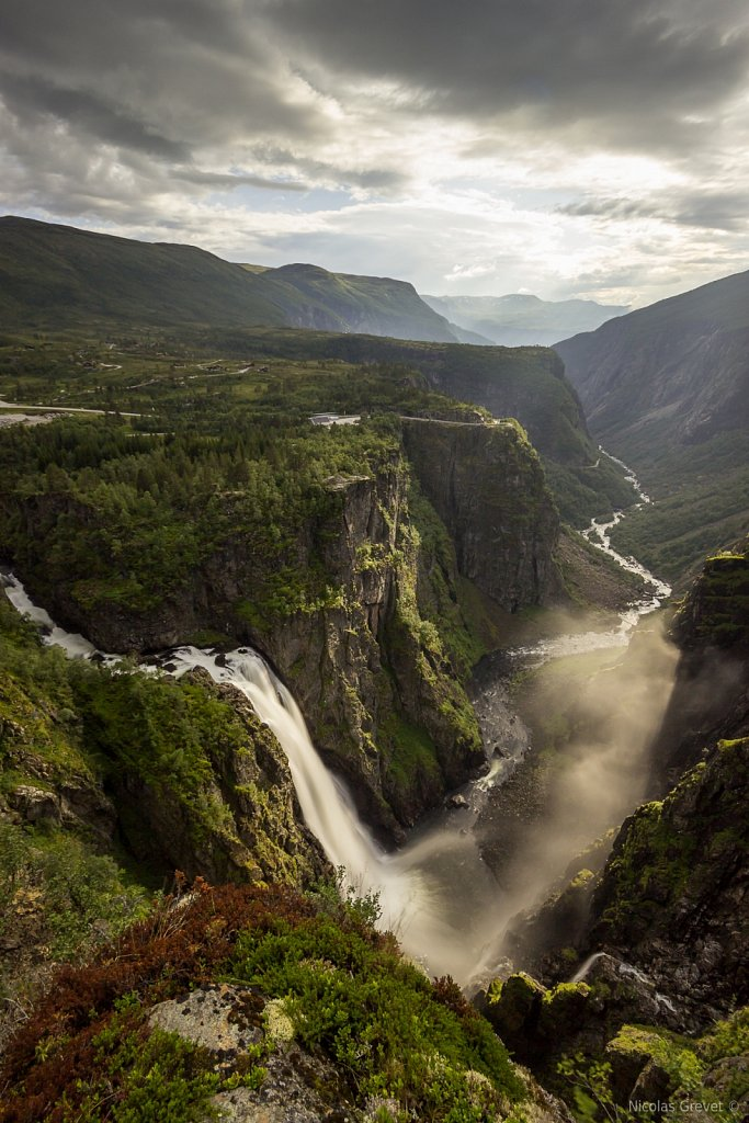 Vøringfossen waterfall