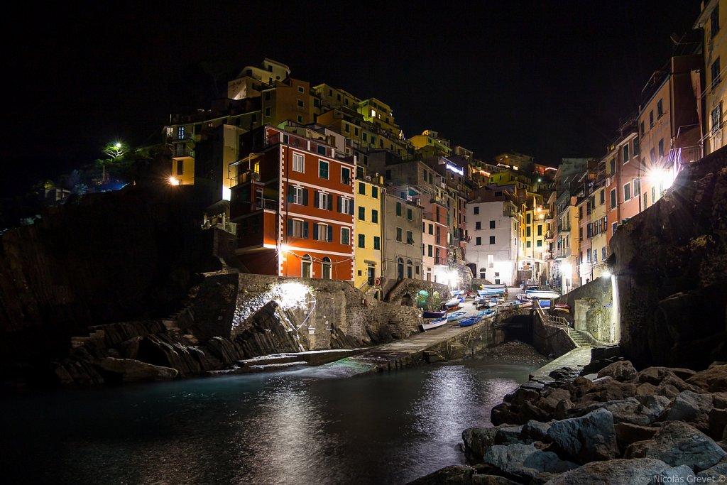 Riomaggiore by night
