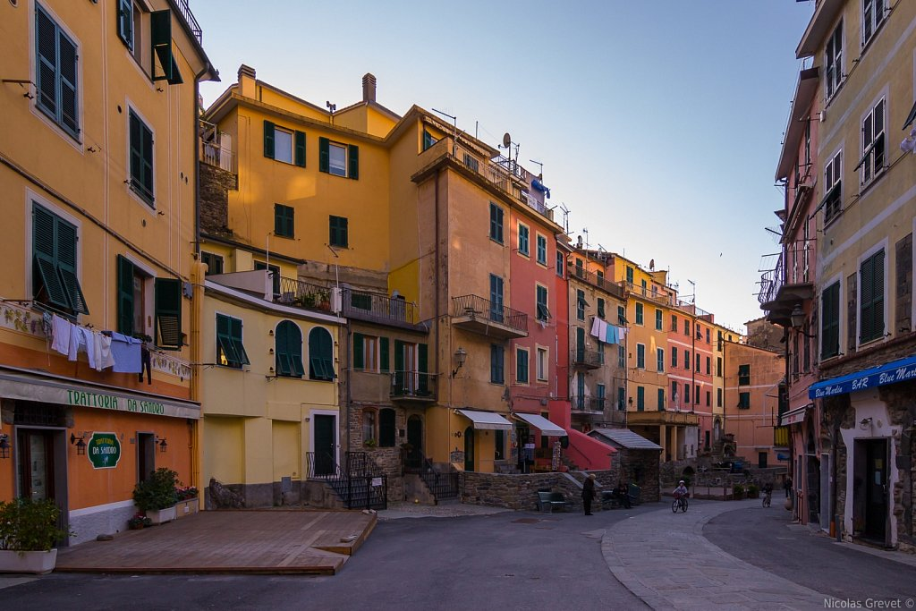 Vernazza streets
