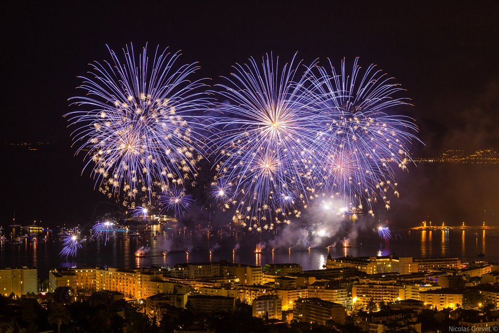 Festival of Pyrotechnic Art of Cannes 2014