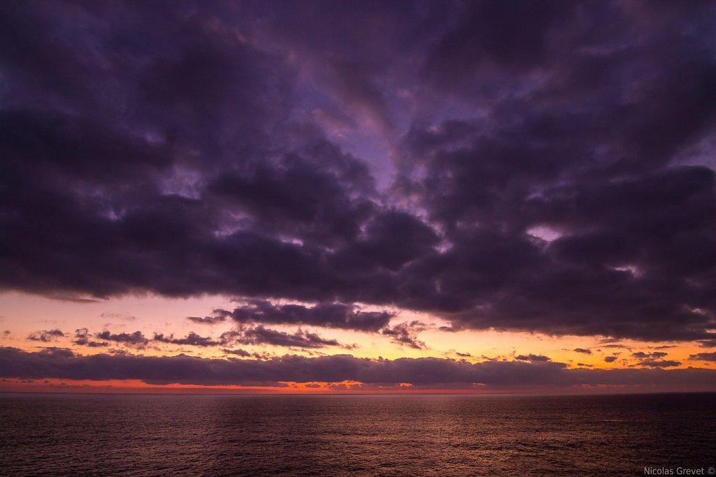 Italian Riviera sunset