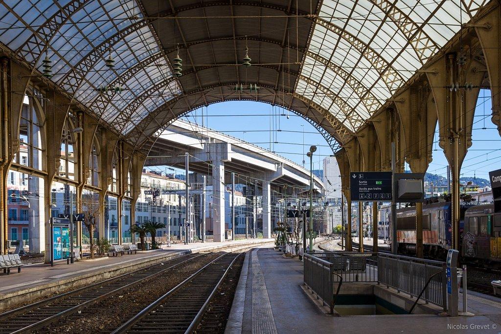 Nice-Ville Train Station