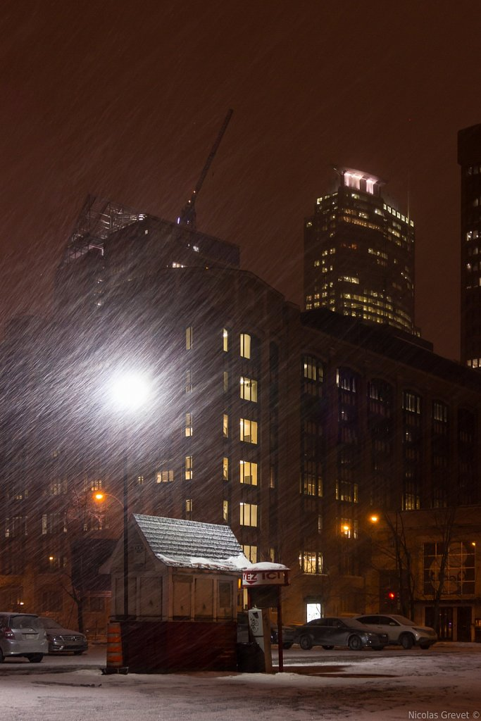 Downtown Snowstorm