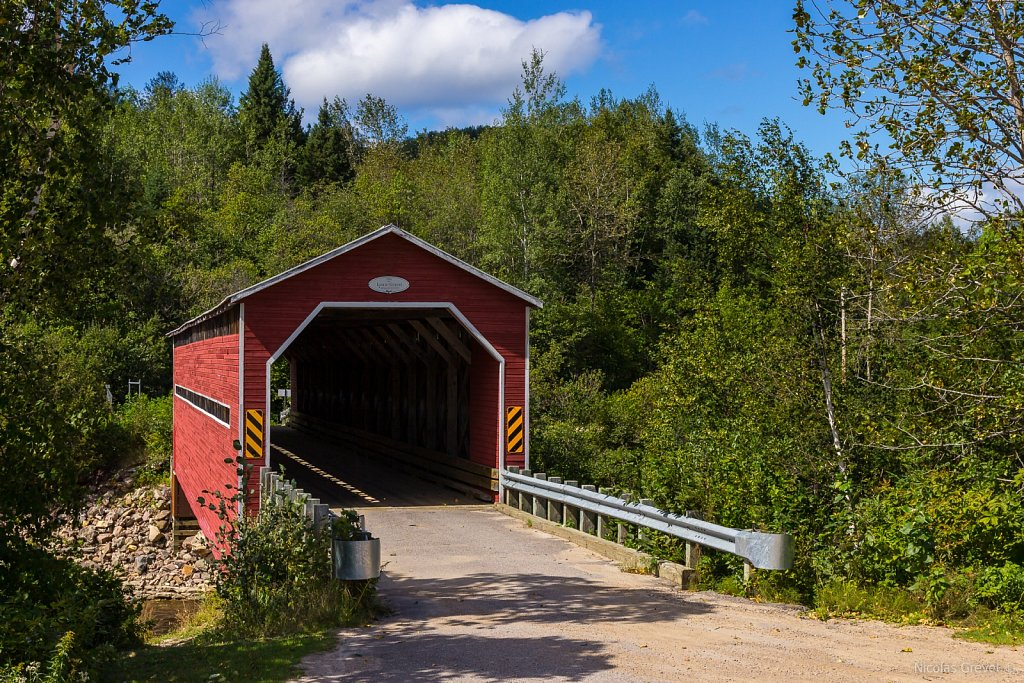 Louis-Gravel Covered Bridge