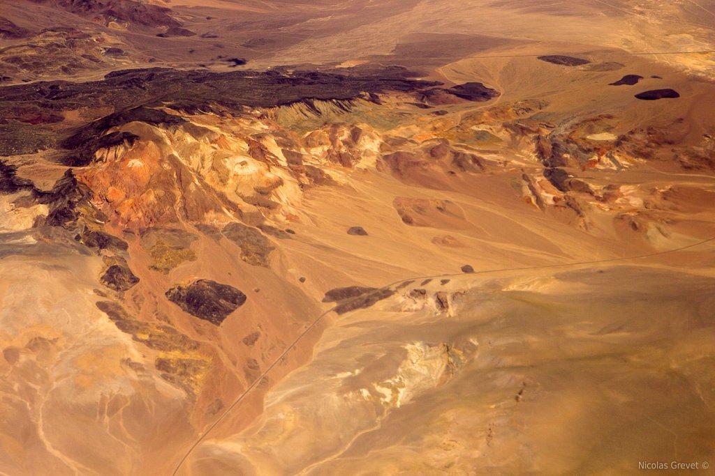 Flying over Colombus Salt Marshes