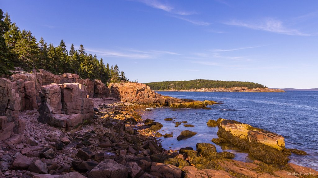 Thunder Hole Beach