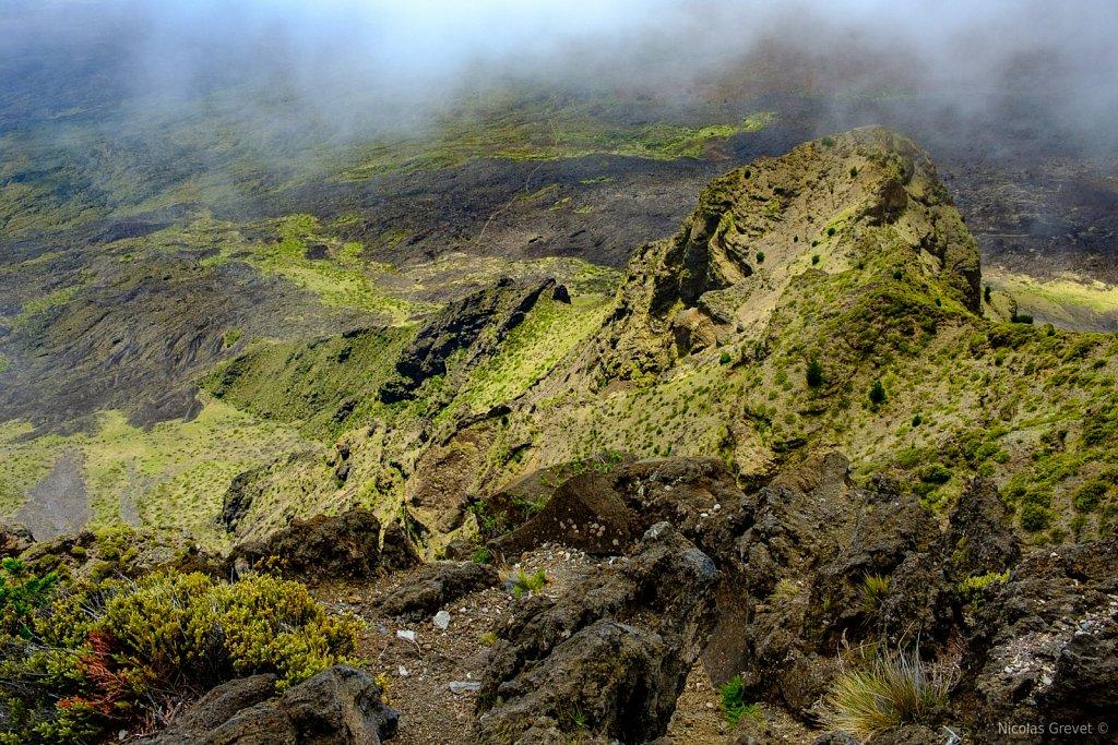 Inside Haleakalā