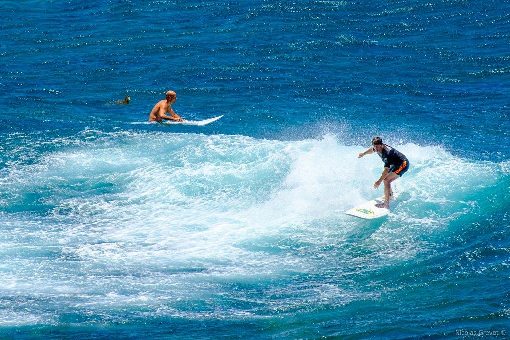 Ho'okipa Surfing