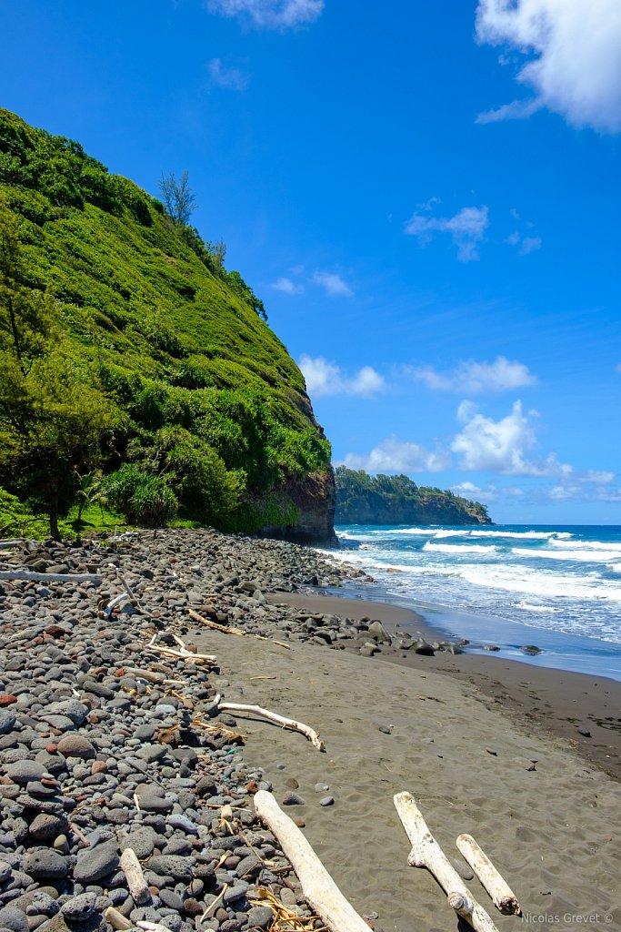 Pololū Beach