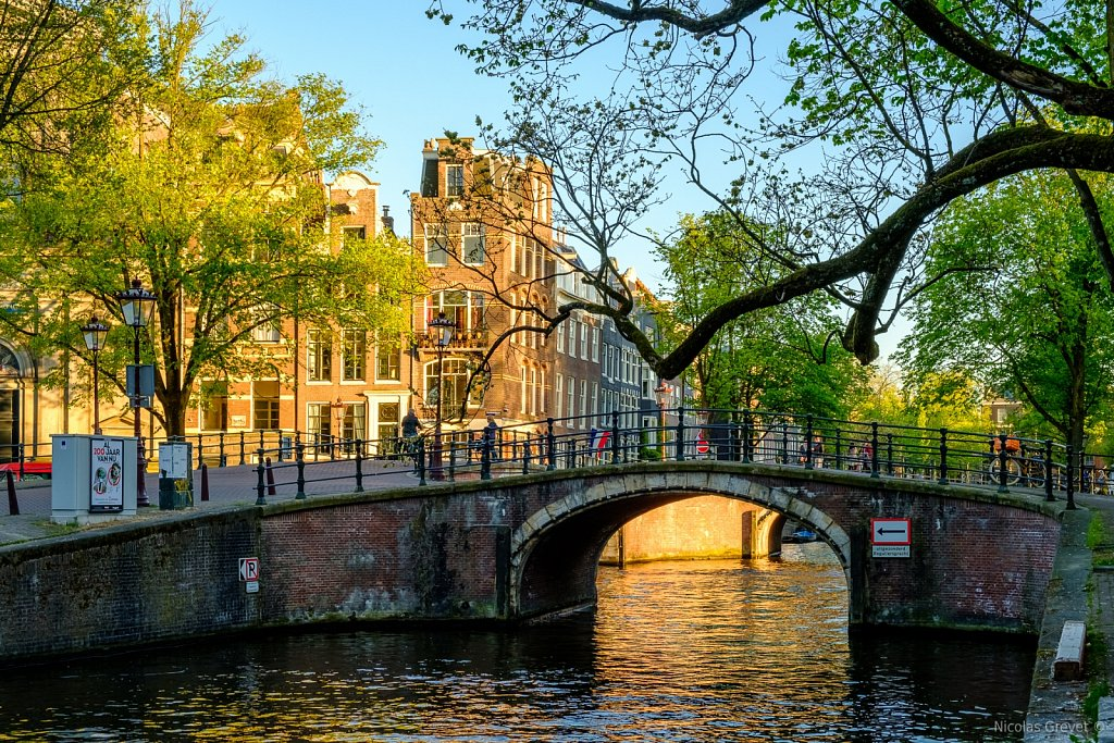 Reguliersgracht Bridge