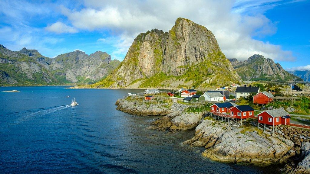 Hamnøya Rorbuers